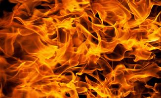 Ta bort brandlukt med ozon